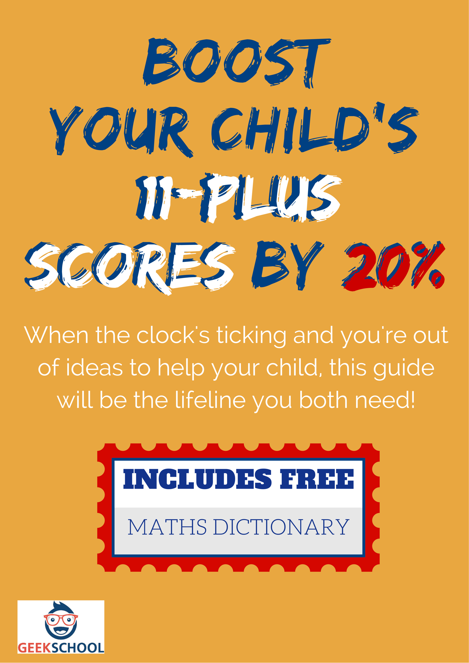 Boost 11 Plus maths scores