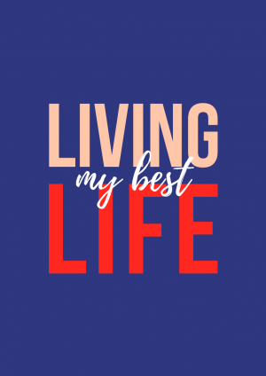 'Living My Best Life' Design Planner