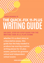 The Quick-Fix 11 Plus Writing Guide